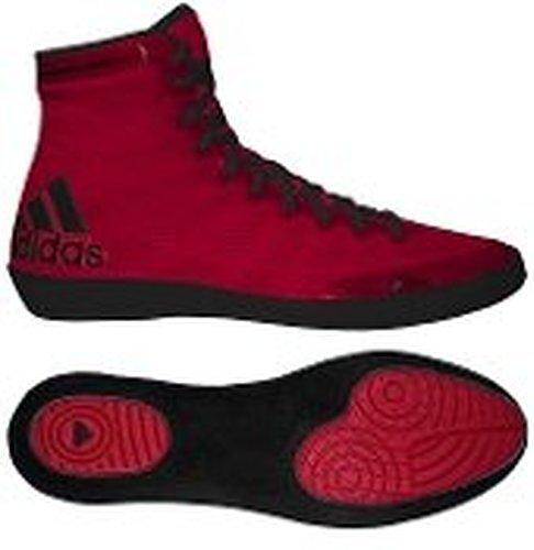 588f84b2eb Adidas Adizero Varner Wrestling Shoes - Red Black - Size  8 - Check ...