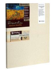 """Masterpiece Vincent PRO 7/8"""" Deep, 12 x 36 Inch, Raw Unprimed No. 12 Heavy Cotton Canvas"""