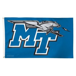 WinCraft NCAA Middle Tennessee State Blue Raiders Deluxe Flag