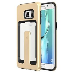 Matchnine Galaxy S6 Edge Plus Case Protection & Clip - Champagne Gold