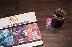 "Kess InHouse Nina May ""Lepparo"" Coaster - Pink/Purple - Size: 4"" x 4"""