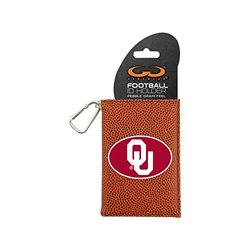 NCAA Oklahoma Sooners Classic Football ID Holder - Brown - One Size