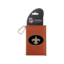 NFL New Orleans Saints Classic Football ID Holder - Brown - One Size