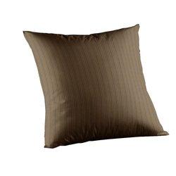 Green Stripes Fabric Toss Pillow 16 x 16 Inch