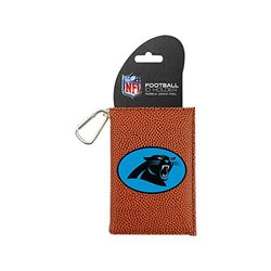 NFL Carolina Panthers Classic Football ID Holder - Brown - One Size