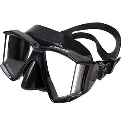 Genesis Quadra Mask, Black Silicone
