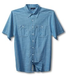 Kavu Men's Jacksonville Shirt - River Blue - Size: X-Large