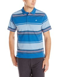 Mountain Khakis Men's Sunset Polo Shirt - Storm Blue - Size: Medium