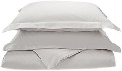 Impressions 800 Thread Count Duvet Cover Set - Size: Full/Queen - White