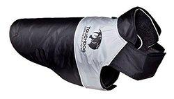 Touchdog Convertible Dog Coat XS Black Black