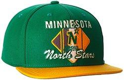 NHL Dallas Stars Men's CCM Diamond Flat Brim Snapback Cap - Green - One