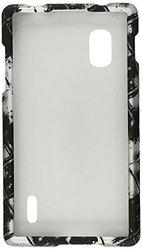 Cell Armor Case for LG Optimus G - Black/White (LGE970-SNAP-TE491-S)