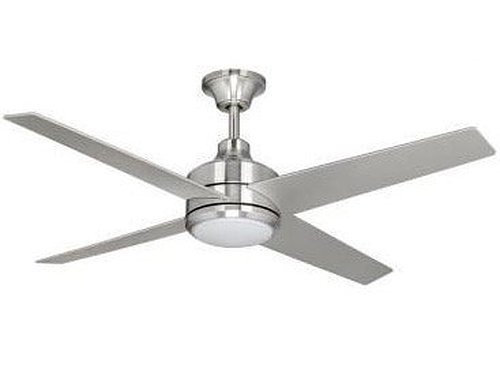 Brushed Nickel Ceiling Fan Home Decorators Collection 14725 Mercer 52 In