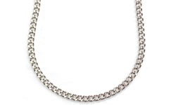Mens Curb Chains Stainless Steel - 30