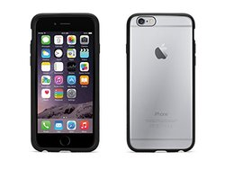 Griffin Reveal Case for iPhone 6/6s - Retail Packaging - Black/Clear