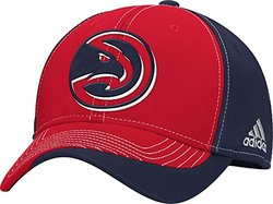 adidas NBA Atlanta Hawks Dribble Series Adjustable Cap - Red/Black