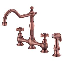 Danze Opulence Deck Mount Standard Kitchen Faucet - Antique Copper