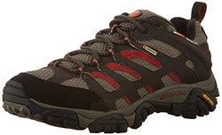 Merrell Men's Moab Gore-Tex Hiking Shoe - Dark Chocolate - Size: 10.5