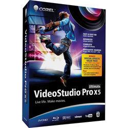 Corel VideoStudio Pro X5 Ultimate (VSPRX5ULENMBAM)