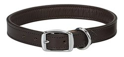 "Weaver Leather Padded Collar, Chocolate Liner, 1"" x 23"""
