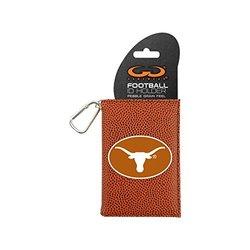 NCAA Texas Longhorns Classic Football ID Holder, One Size, Brown