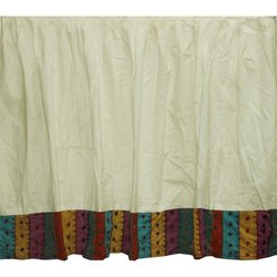 Patch Magic DRKMAJS Majestic Dust Ruffle King, 78-Inch by 80-Inch