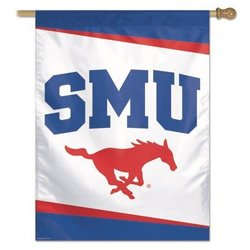NCAA SMU Mustangs Vertical Flag, 27 x 37-Inch