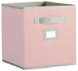 "Martha Stewart Living 10-1/2"" x 11"" Sugared Pink Fabric Drawer"