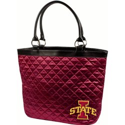 NCAA Iowa State Cyclones Quilted Tote, Maroon