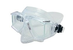 Genesis Panview 2 Dive Mask, Clear