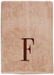 Avanti Towel Set LIN/BRN PRE BLOCK 3PC (B/H/T)