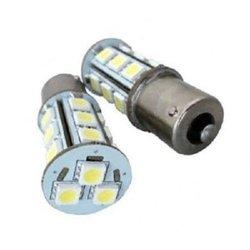 AS Vision AS-S25-1156-5050-18SMD-5PK 5050 LED Backup Signal Blinker Tail Light, 10 Pack (White)