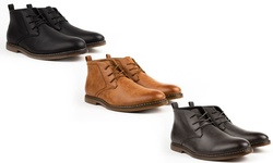 Zota Miko Lotti Men's Dress Boot Chukkas - Tan - Size: 10
