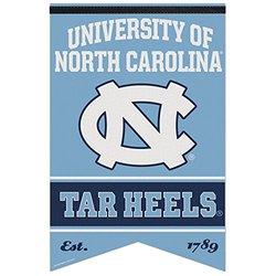 NCAA North Carolina Tar Heels Premium Felt Banner - 17 x 26-Inch