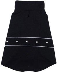Dogit Military Dog Coat - Black - Size: Medium