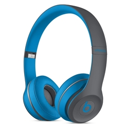 Beats by Dr. Dre Solo2 Wireless On-Ear Headphone - Flash Blue (MKQ32AM/A)
