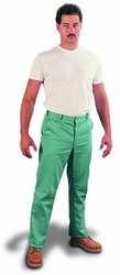 """Steel Grip Flame Resistant 12-Oz Cotton Whipcord Pant - 30"""" x 32"""" - Green"""
