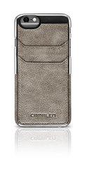 Camalen Collego iPhone 6 Genuine Leather Case - Retail Packaging - Aluminum