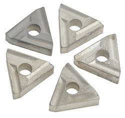 5 Pack Grizzly G7052 Carbide Insert for Cast Iron LH - For use w/ G7035