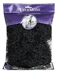 SuperMoss (26965) Spanish Moss Preserved Black 4oz