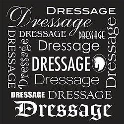 The Sound Equine Men's Dressage Dressage Dressage T-Shirt - Black - Small