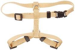 OmniPet Kwik Klip Adjustable Nylon Pet Harness - Honey Sand - Size: Large
