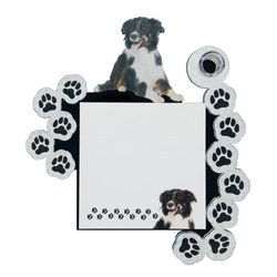 Got Yo Gifts Fashion Framed Note Pad - Border Collie