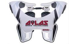 Atlas 2014 Original Adjustable Neck Brace - White - Size: Small