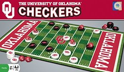 NCAA Oklahoma Sooners Checkers, Gray, Small