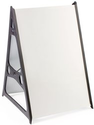 "Displays2go 36"" A-Frame Sidewalk Sign Frames - Set of 3"