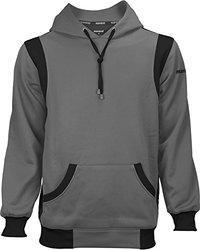 Marucci Adult Performance Fleece Hoodie - Black/Red - Size: Medium