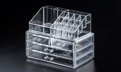 4-Drawers Acrylic Tabletop Cosmetics Box