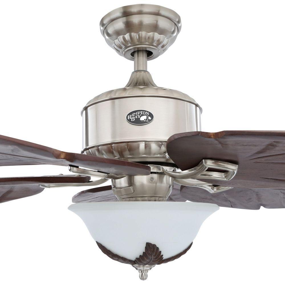 Hampton Bay Antigua Ceiling Fan Light Kit on
