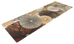 "Kess InHouse Heidi Jennings ""Dusty Road"" Yoga Exercise Mat - Brown/Tan"